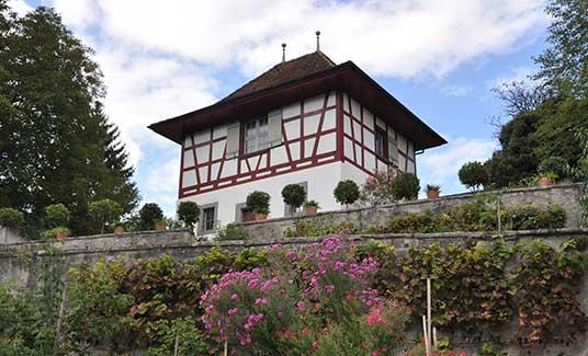 Abthaus mit Abtgarten