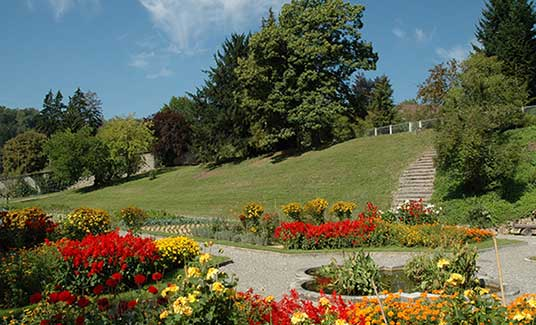 Klosterpark im Spätsommer